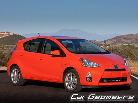 Toyota Prius C (NHP10) 2012-2015 Collision Repair Manual