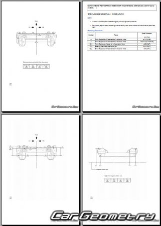 Toyota Avanza (F651, F652) 2012-2015 Collision Repair Manual