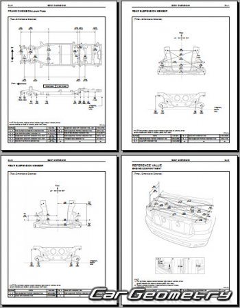Toyota Sequoia 2008-2015 (UCK60, UCK65, USK60, USK65) Collision Repair Manual