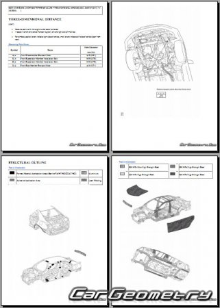 Toyota Camry Hybrid (AVV50) 2012-2015 Collision Repair Manual