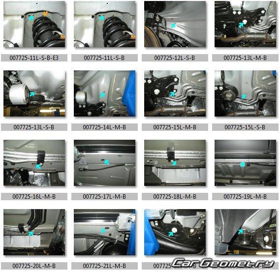 2015 Lincoln Mkt Camshaft: Кузовные размеры Lincoln MKT 2010-2018