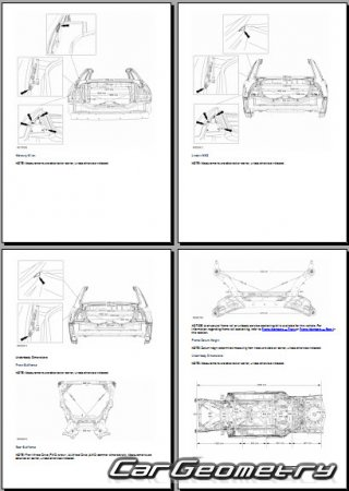 Lincoln MKZ 2010–2012 Body dimensions