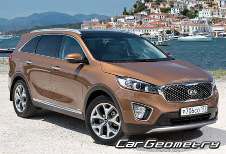 ������� ������ Kia Sorento (UM) � 2015 Body shop manual