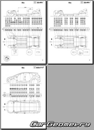 Kia Carens (RP) 2013-2019 Body Repair Manual