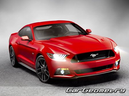 ��������� Ford Mustang 2015-2021 (������ ���������)
