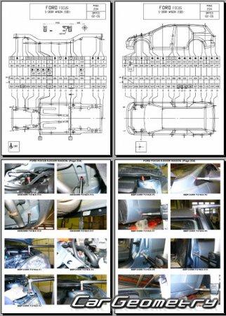 Контрольные точки геометрии кузова форд фокус 2