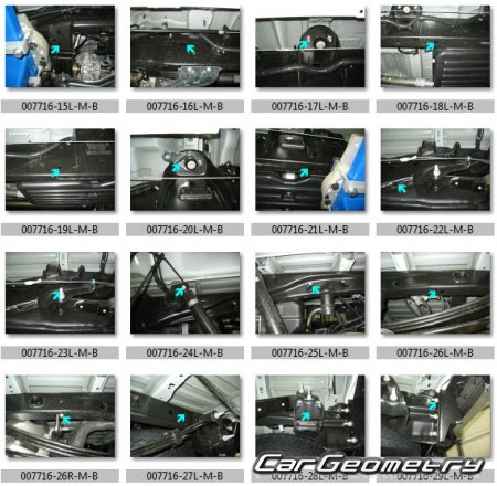 Геометрия кузова Ford F-150 2009–2014 Body dimensions