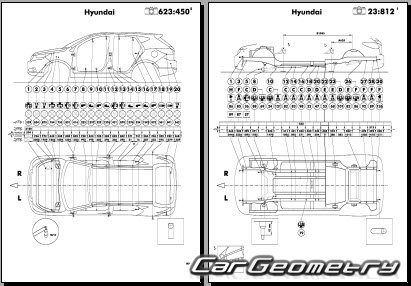 Hyundai ix35 (EL) с 2013 Body Repair Manual