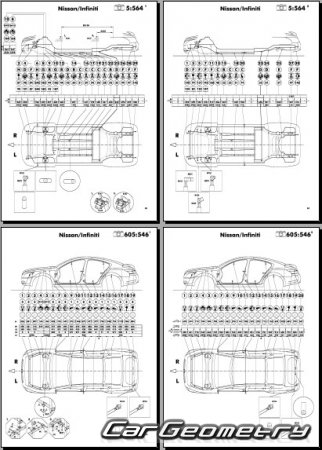 Nissan Maxima (A35) 2009-2014 Body Repair Manual