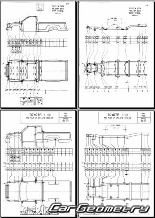 Toyota T100 1993-1998 (RCK10, VCK11, VCK21) Collision Repair Manual