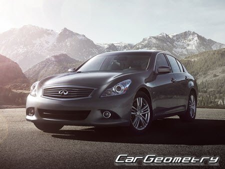 Infiniti Q40 (V36) 2014-2015 (2WD и AWD) Body Repair Manual