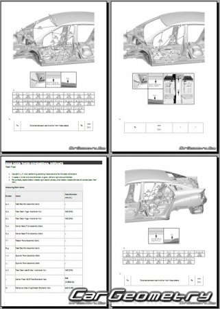 Toyota Mirai (JPD10) 2015-2019 Collision Repair Manual