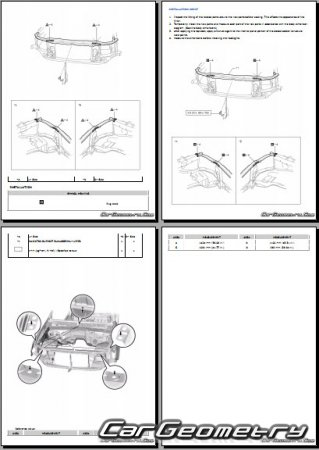 Toyota Tacoma 2016–2020 (Access Cab, Double Cab) Collision shop manual