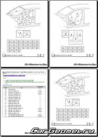 Toyota Yaris L (NSP151) 2016-2021 Collision Repair manual