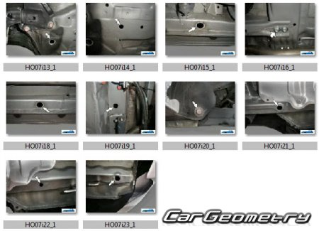 Honda City (Honda Ballade) 2009-2015 (GM1 GM2 GM3) Body dimensions