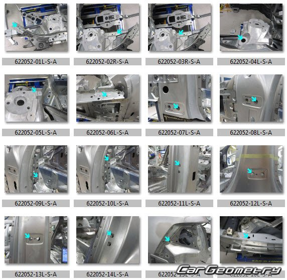 Размеры кузова Volvo S90 2016-2023 Body dimensions