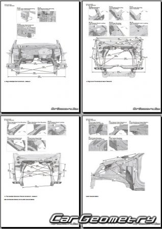 Honda Civic Type R (FK) 2016-2020 Body Repair Manual