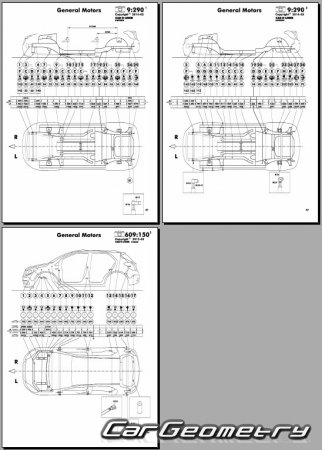 Buick Encore 2012-2018 Body dimensions