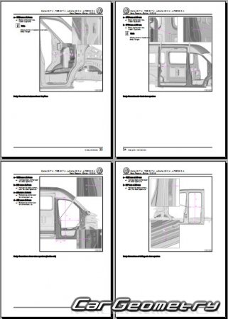 Volkswagen Crafter (SY,SZ) 2017-2027 Body Repair Manual