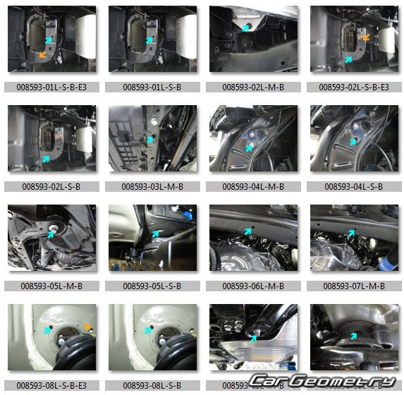 Размеры кузова Honda Odyssey 2017–2021 USA