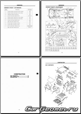 Mazda 121 Canvas Top (DB) 1991–1996 Body shop manual